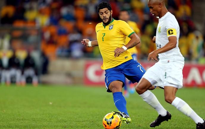 Hulk brasil África do Sul amistoso (Foto: Jefferson Bernardes / Vipcomm)