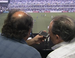 Jornalistas argentinos SporTV News (Foto: Reprodução SporTV)