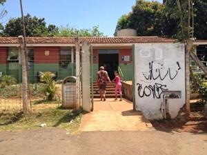 Fachada do posto de saúde do Conjunto Vera Cruz II, em Goiânia, do Diário de um Posto de Saúde (Foto: Reprodução/Facebook)
