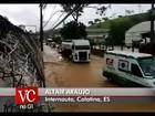 Chuva afeta 15 cidades do interior e toda a Grande Vitória, diz defesa