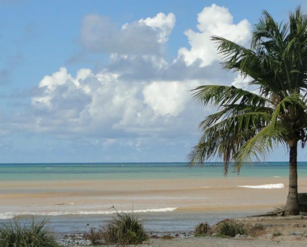 A cidade tem um belo litoral (Foto: Domingão do Faustão/TVGlobo)