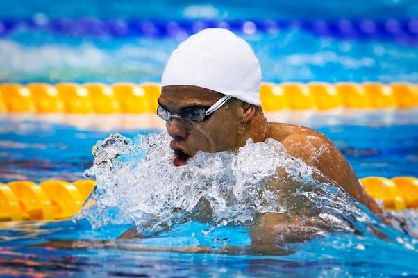 André Brasil conquistou a prata para o Brasil (Foto: Buda Mendes/CPB)
