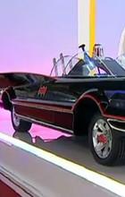 Sucesso no salão, Batmóvel vira miniatura (Reprodução/TV Globo)