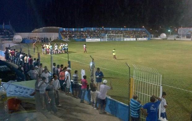 Foz de Cataratas e São José em duelo na semifinal da Libertadores de Futebol Feminino (Foto: Divulgação/ Conmebol)