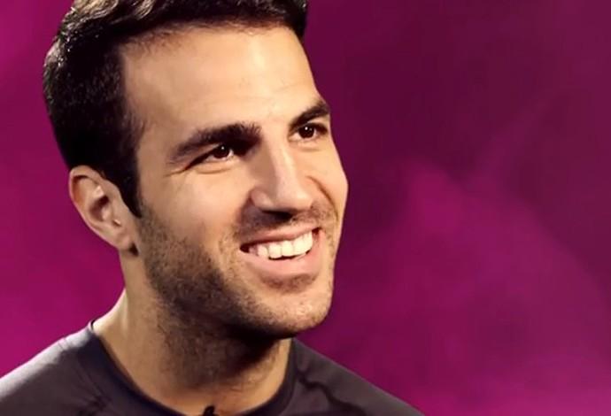 Fabregas entrevista (Foto: Reprodução / Youtube)