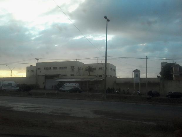 Complexo Penitenciário de Pedrinhas (Foto: João Ricardo/G1)