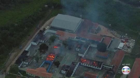 Presos fazem rebelião e fogem de presídio em Franco da Rocha