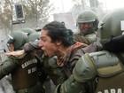 Choque entre policiais e estudantes tem mais de 100 presos no Chile