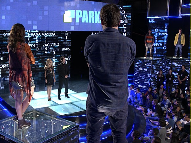 Estreia do reality show (Foto: Parker TV)