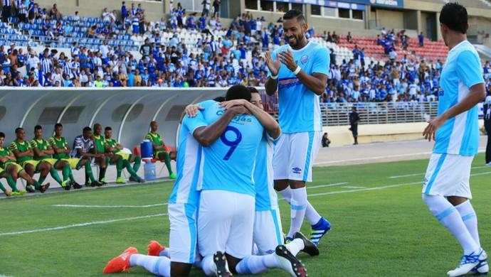 Sete de Setembro x CSA, no Rei Pelé Gol de Daniel Cruz (Foto: Ailton Cruz / Gazeta de Alagoas)