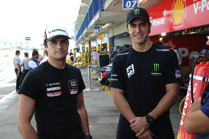 Nelsinho Piquet será o convidado de Átila Abreu na corrida deste domingo (Foto: Duda Bairros/Vicar)