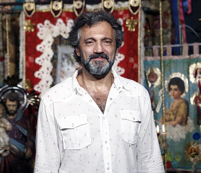 Domingos Montagner será Santo na segunda fase da trama (Foto: Inácio Moraes/Gshow)