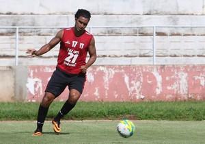 William Xavier, atacante do Botafogo-SP (Foto: Rogério Moroti/Ag. Botafogo)