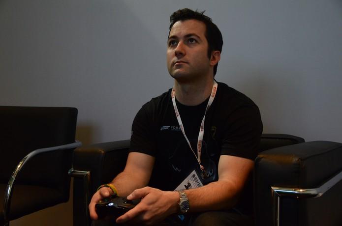 Em entrevista ao TechTudo na BGS 2014, o diretor disse que o jogo é um verdadeiro sucesso (Foto: Matheus Vasconcellos/ TechTudo)