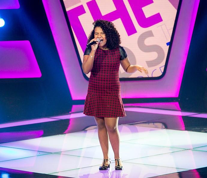 Bebé Salvego solta a voz em Audição do The Voice Kids (Foto: Isabella Pinheiro/Gshow)