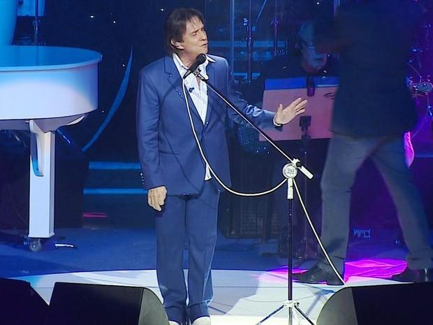 Show Roberto Carlos Porto Alegre (Foto: Reprodução/RBS TV)