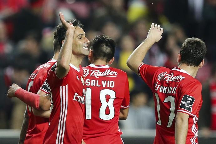 Jonas Benfica x Nacional (Foto: EFE)