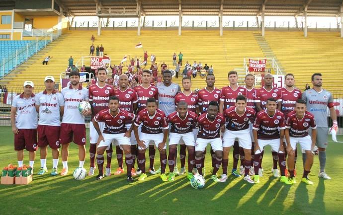 Desportiva Ferroviária empatou fora de casa com o Volta Redonda por 0 a 0 (Foto: Henrique Montovanelli/Desportiva Ferroviária)