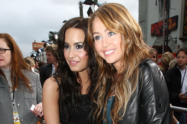 Demi Lovato e Miley Cyrus (Foto: Getty Images)
