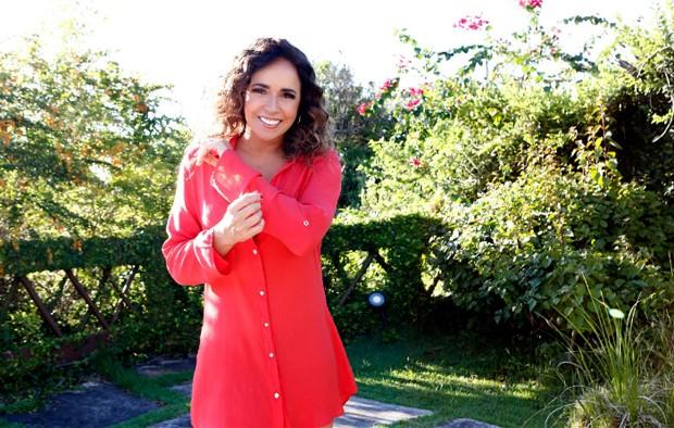 Daniela Mercury em sua casa em Salvador (Foto: Reprodução/Instagram)