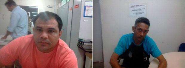 Edilson e João Maria são suspeitos de aplicar golpes em prefeitos e empresários do RN (Foto: Divulgação/Polícia Civil do RN)