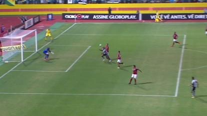 Os gols de Atlético-GO 1 x 1 Botafogo pela 16ª rodada do Campeonato Brasileiro
