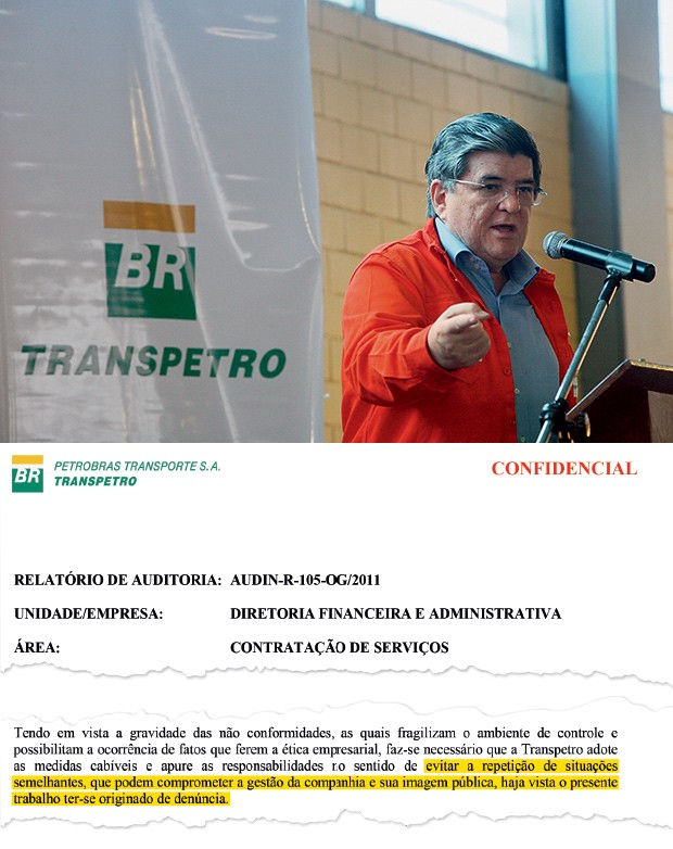 """LOBBY Sérgio Machado, presidente da Transpetro. Uma auditoria fala em situações que podem """"comprometer a imagem pública"""" da empresa (ao lado) (Foto: Renata Mello/AG Petrobras )"""