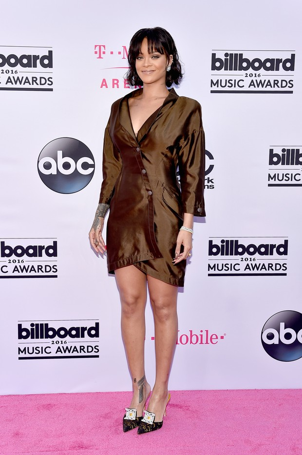 Rihanna no Billboard Music Awards (Foto: AFP)