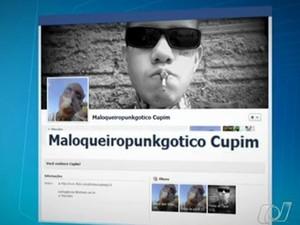 Jovem suspeito de matar pai e namorada volta a ser preso em Goiânia (Foto: Reprodução/TV Anhanguera)