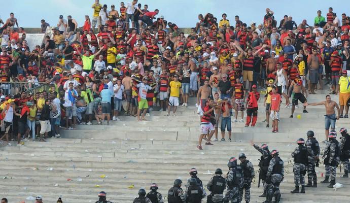 Botafogo-PB x Sport (Foto: Aldo Carneiro / Pernambuco Press)