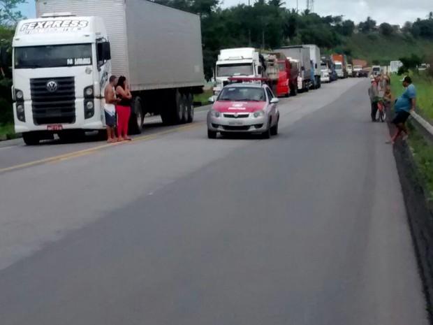 Trânsito é intenso na região (Foto: Patrícia Santos/Arquivo Pessoal)