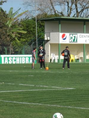 Márcio Goiano e Aloisio (Foto: Savio Hermano / Globoesporte.com)
