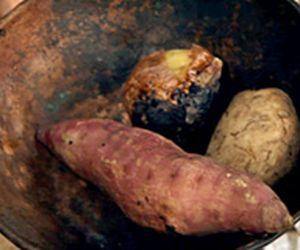 Acompanhamento para churrasco: legumes na brasa