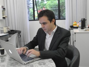 Rossano vai abrir escritório focado no público gay (Foto: Luiza Carneiro/ G1)