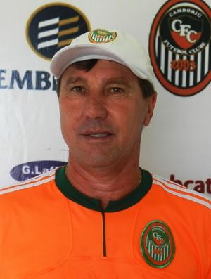 Suca, treinador do Camboriú (Foto: Divulgação)