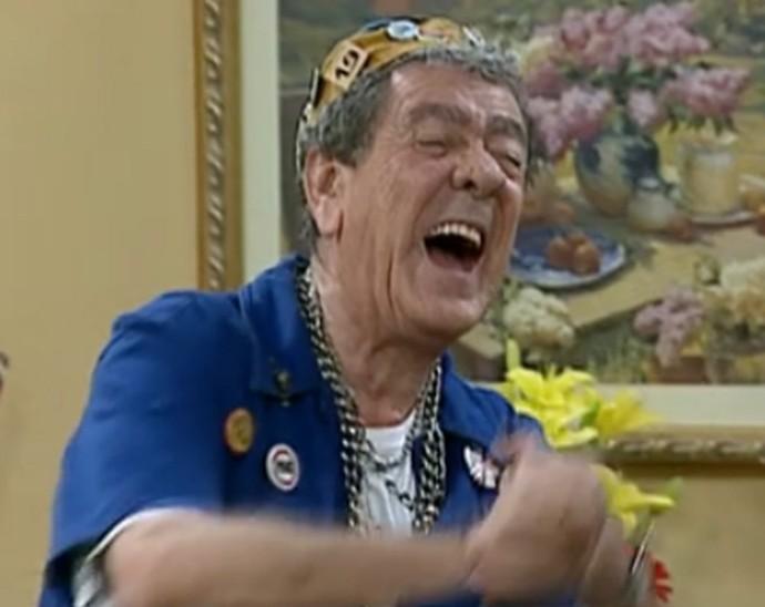 O humorista Tutuca (Foto: TV Globo)