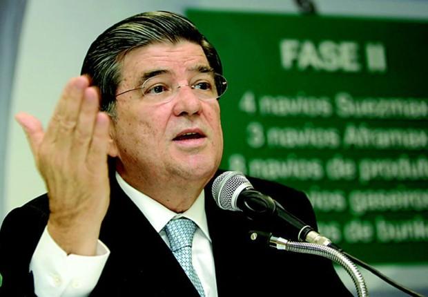 O ex-presidente da Transpetro Sergio Machado : delação envolve alta cúpula do PMDB (Foto: Reprodução/YouTube)