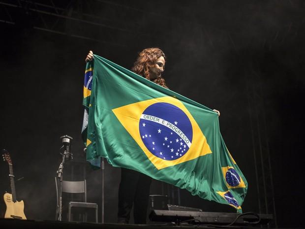 Ana Carolina em show em Vila Velha, no Espírito Santo (Foto: Harry Corbellari/ Flash Glamour/ Divulgação)
