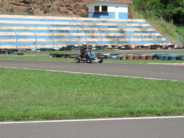Campeonato de Miniveículos Elétricos foi realizado nesta terça-feira (15) (Foto: Heloise Hamada/G1)