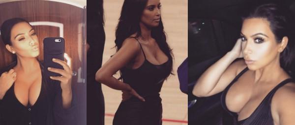 A celebridade profissional Kim Kardashian (Foto: Instagram)