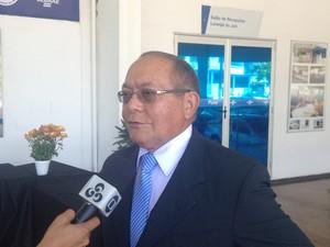 Pedro Aurélio Penha, conselheiro do Tribunal de Contas do Estado (Foto: John Pacheco/G1)