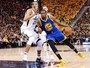 Kevin Durant faz duplo-duplo, Warriors seguram reação do Jazz e abrem 3 a 0