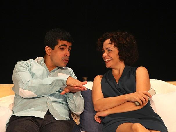 Marcius Melhem e Luciana Braga formam o casal em crise (Foto: Theodora Duvivier)