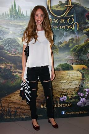Talita Pugliesi em pré-estreia de filme em São Paulo (Foto: Manuela Scarpa/ Foto Rio News)
