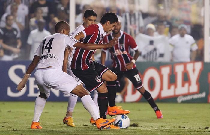 Santos x São Paulo pela semifinal do Campeonato Paulista 2015