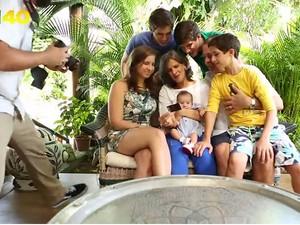Programa de Marina exibe imagem de Eduardo Campos com sua família