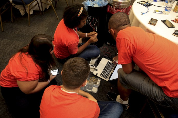 Cidadania e soluções para questões urbanas também foram grande destaque no Hack in Poa (Foto: Guilherme Dias)