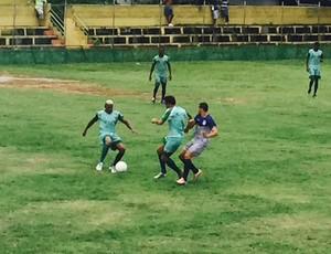 Espírito Santo FC venceu o Tupy-ES por 3 a 1, em jogo-treino que aconteceu na manhã desta terça, em Vila Velha (Foto: Divulgação/ESFC)