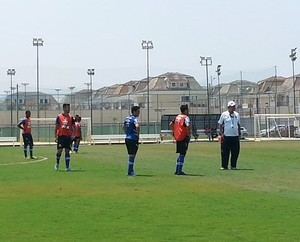 jogadores treino do vasco (Foto: Raphael Zarko / Globoesporte.com)