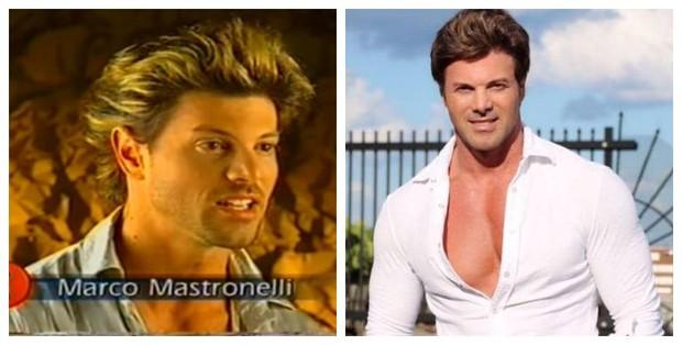 Antes e depois de Marco Mastronelli (Foto: Reprodução de Vídeo | Reprodução do Facebook)